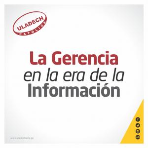 Plantilla blog - La gerencia en la era de la información