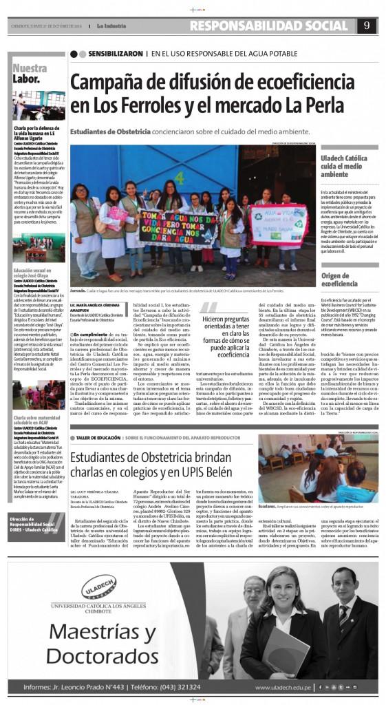 Publicación Semanal - Octubre 2016