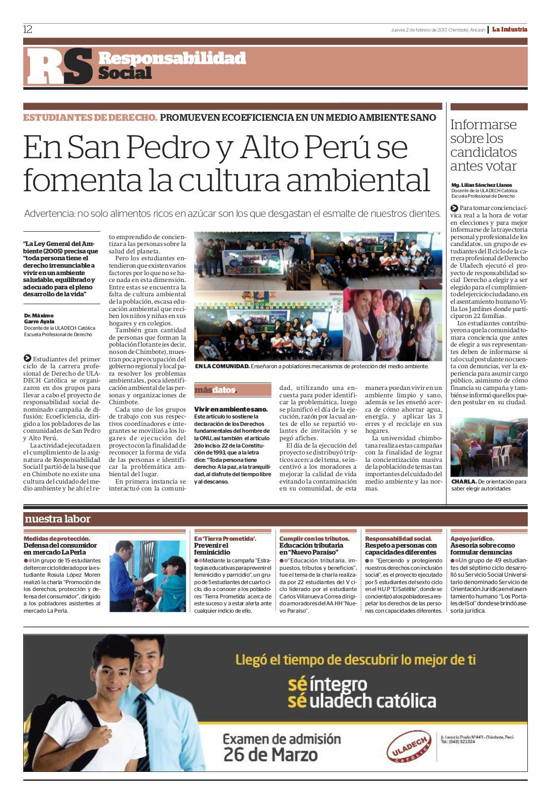 Publicación Semanal - Febrero 2017