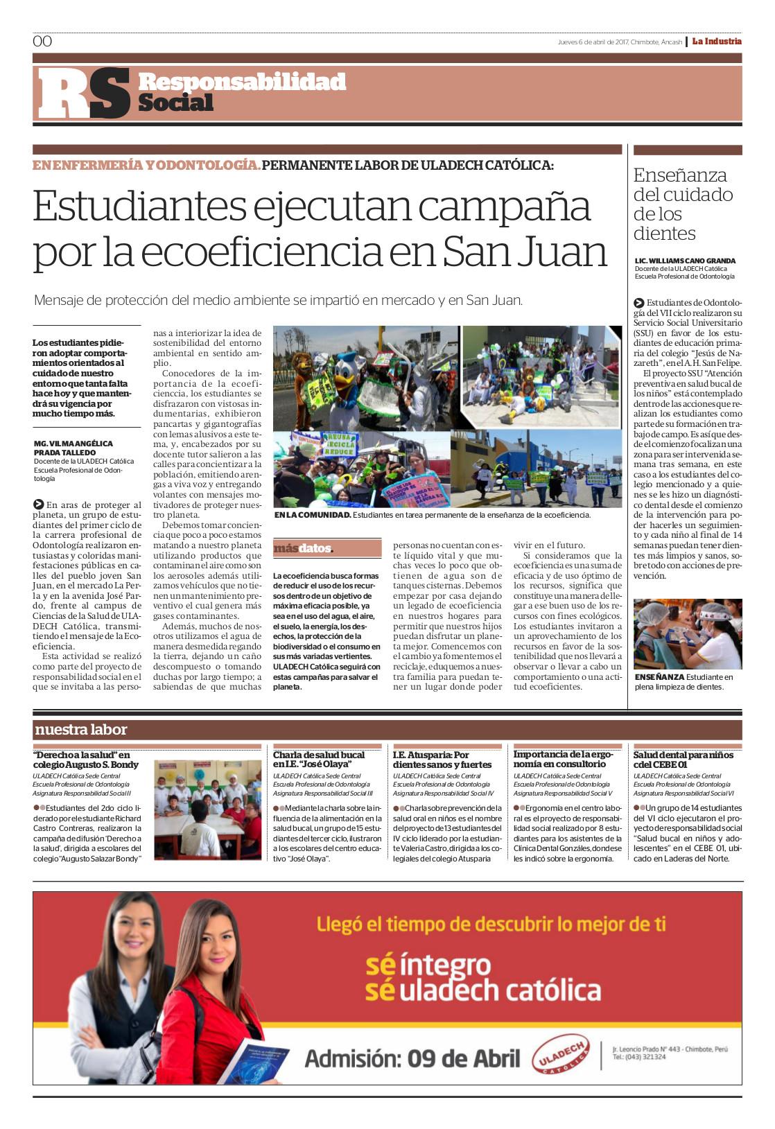 Publicación Semanal - Abril 2017